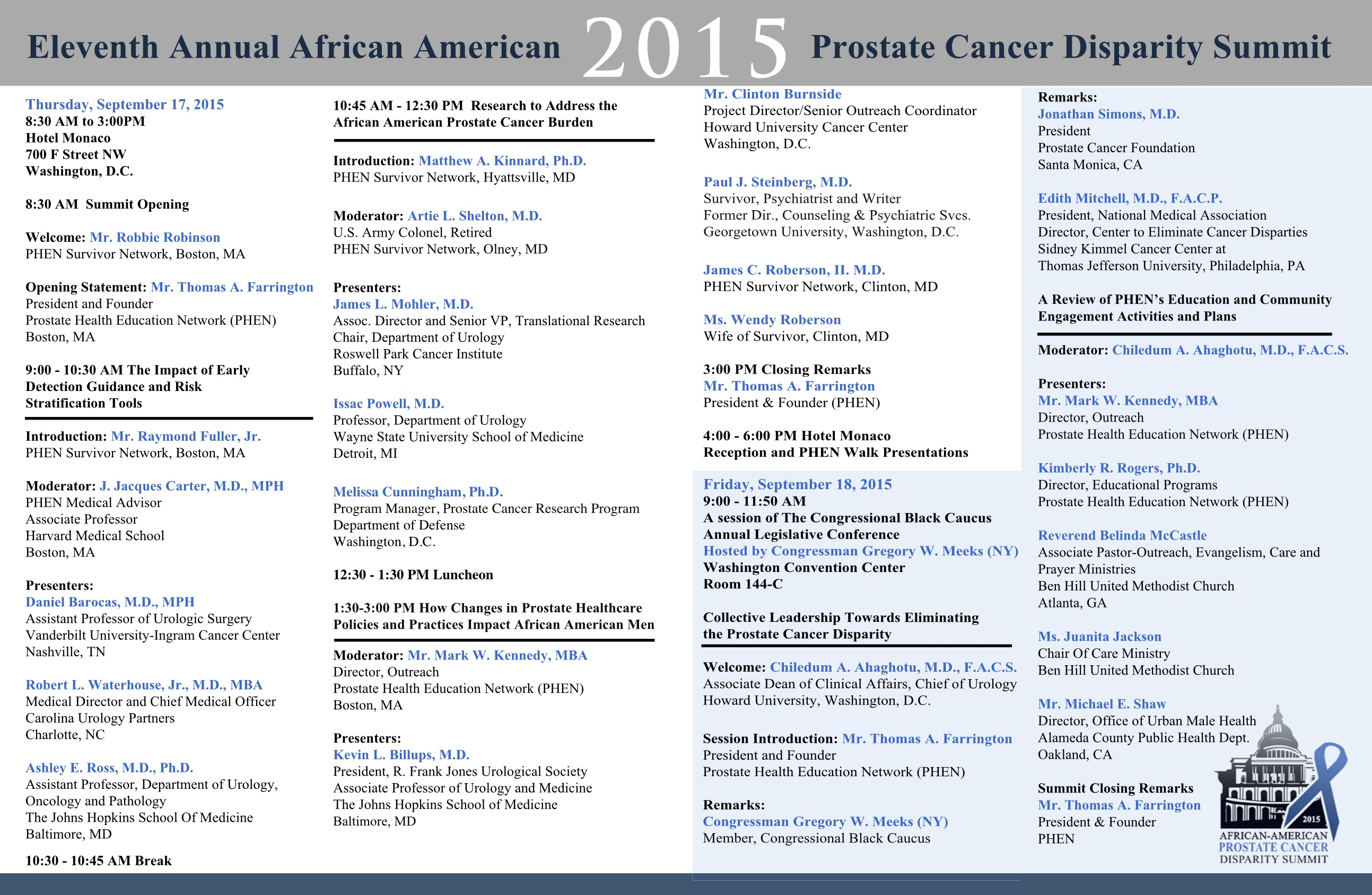 African-American Prostate Cancer Disparities