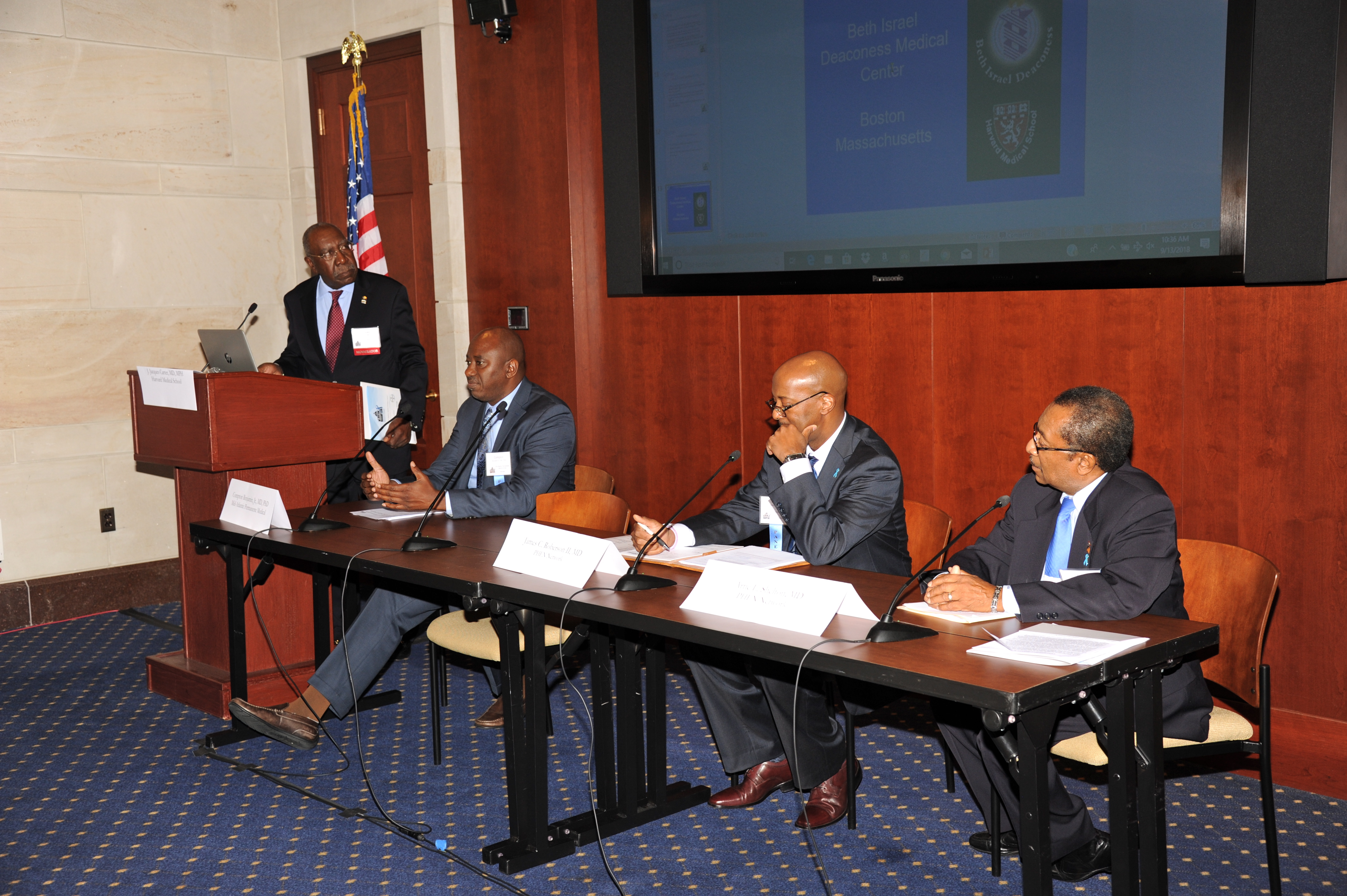 2018 Summit: Prostate Cancer Early Detection Panel with Dr. James Roberson II, Dr. Compton Benjamin Jr. and Dr. Artie Shelton