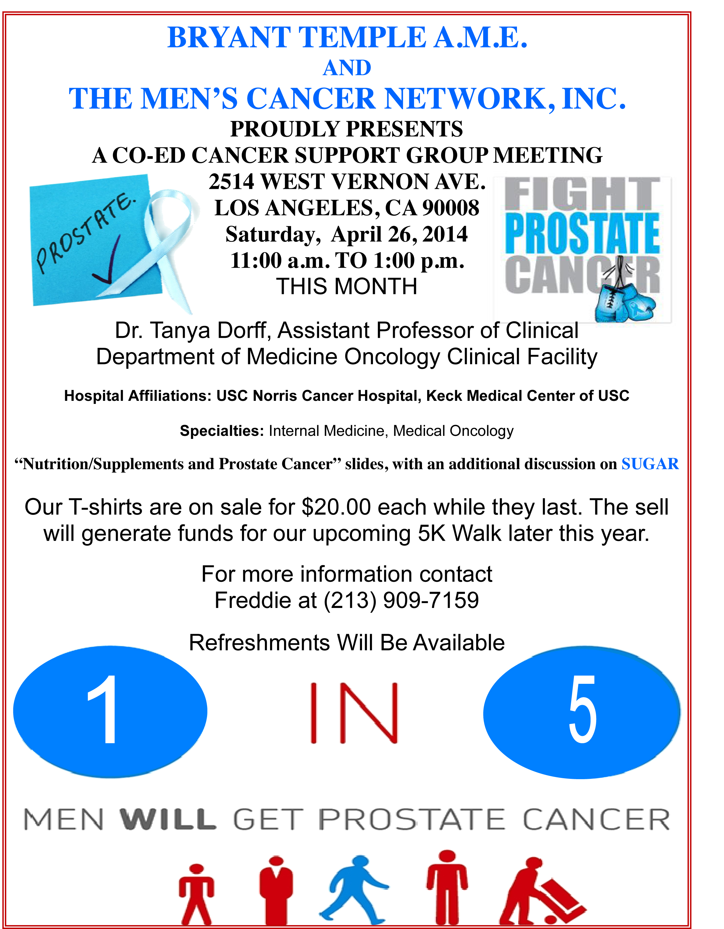 The Prostate Health Education Network: Prostate Health